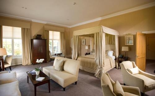 A seating area at Mar Hall Golf & Spa Resort