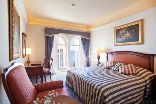 Cama o camas de una habitación en Grand Villa Argentina
