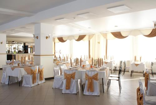 Yasnaya Polyanaにあるレストランまたは飲食店