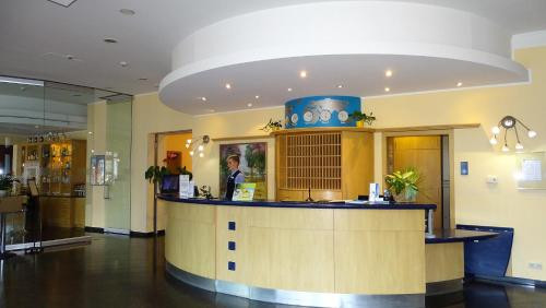 The lobby or reception area at Hotel Ascot Bristol