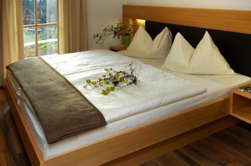 Cama o camas de una habitación en Villa Tilia
