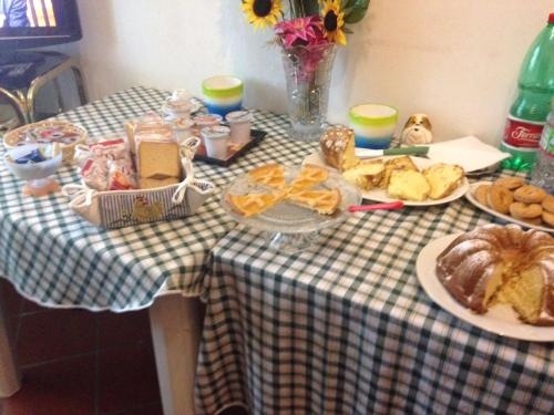 Breakfast options available to guests at Alexander Bed and Breakfast