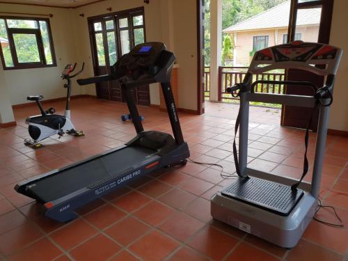 Phòng/tiện nghi tập thể dục tại Vela Phu Quoc Resort