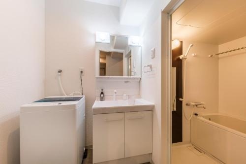 A bathroom at Minn Juso