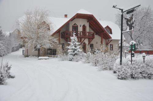 Berek Fogadó in de winter