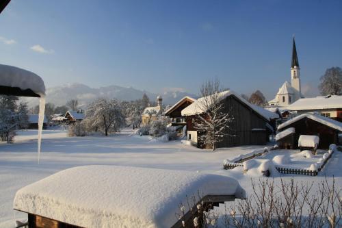 Pension Schusterpeter im Winter