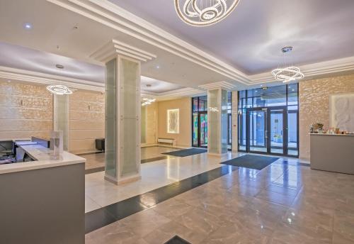 Лобби или стойка регистрации в Apart Hotel Pulkovo Meridian