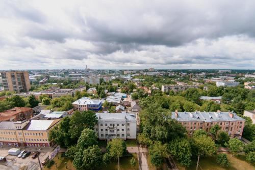 Nine Nights Apartments on Ermaka 10 с высоты птичьего полета