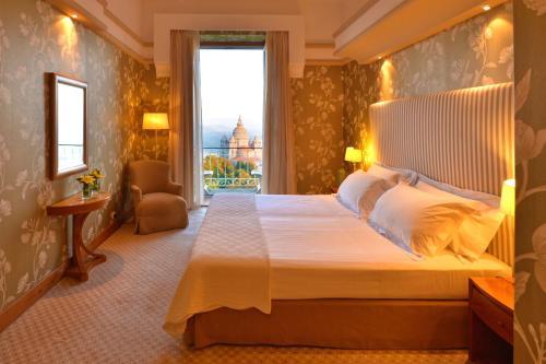 Cama ou camas em um quarto em Pousada de Viana do Castelo