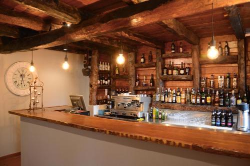 A área de bar ou lounge em Solar de Boaventura