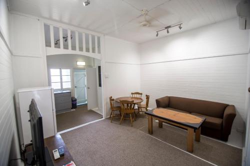 A seating area at Ryan's Rest Boutique Accommodation