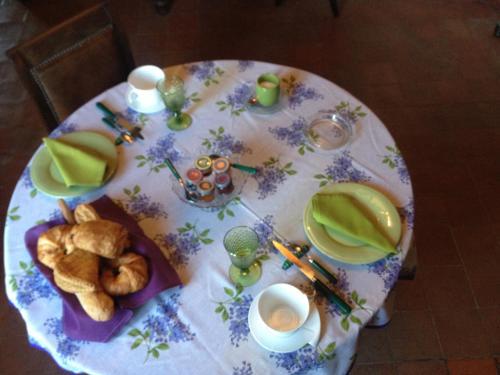 Nourriture dans le B&B/chambre d'hôtes ou à proximité
