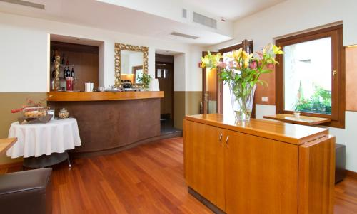 The lobby or reception area at Hotel Le Isole