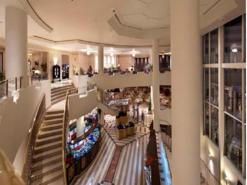 Een restaurant of ander eetgelegenheid bij Concorde El Salam Sharm El Sheikh Front Hotel