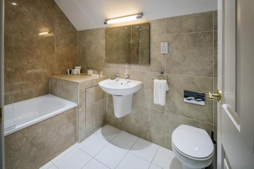 A bathroom at Lindeth Howe