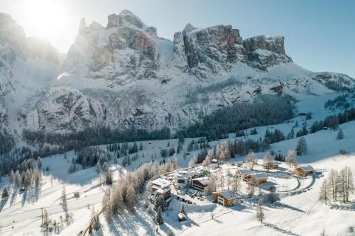 Chalet Roenn durante l'inverno