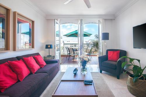 Część wypoczynkowa w obiekcie Rooms & Suites Terrace 4C