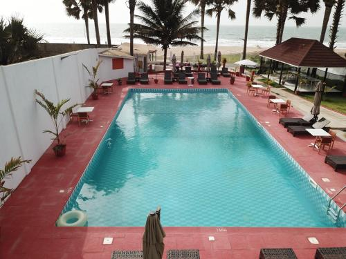The swimming pool at or near Swiss Boutique Hotel