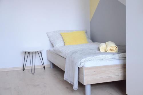 Letto o letti in una camera di Hostel Bratislava
