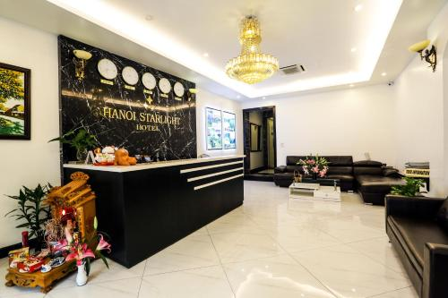 Lobby/Rezeption in der Unterkunft Hanoi Starlight Hotel