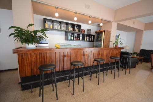 The lounge or bar area at Hotel Valencia
