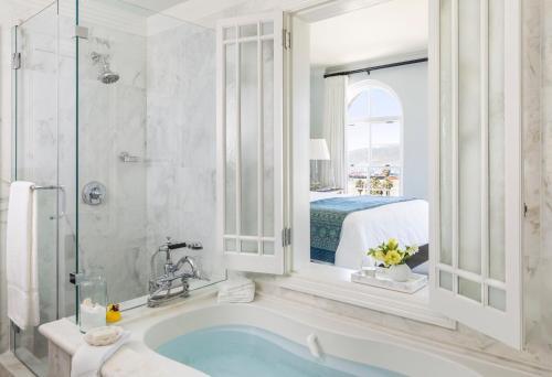 A bathroom at Casa Del Mar