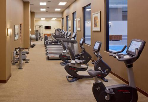 The fitness center and/or fitness facilities at Grand Hyatt Denver