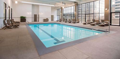 The swimming pool at or near Grand Hyatt Denver