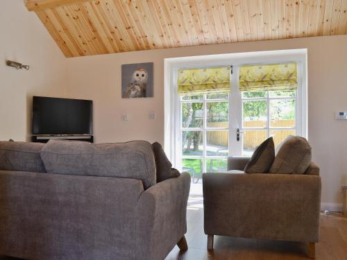 A seating area at Bowles Cottage