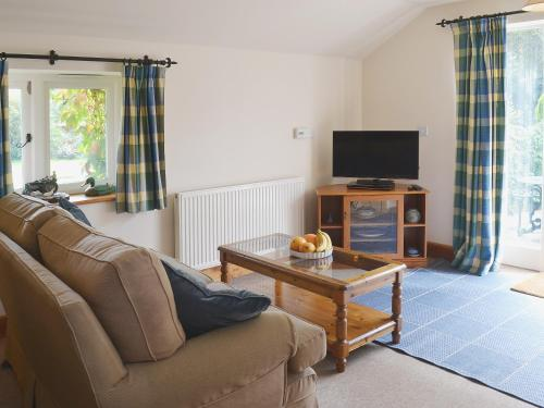 A seating area at Blue Bell Cottage