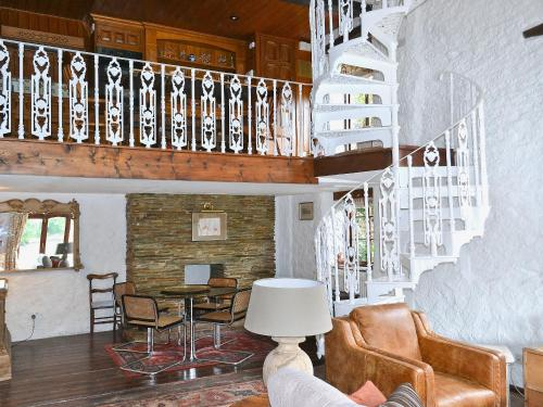 The lounge or bar area at The Boathouse