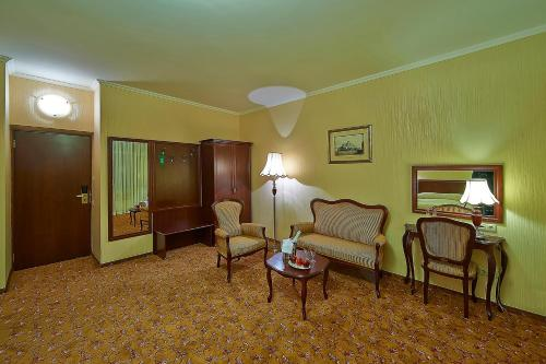 Гостиная зона в Парк-Отель Шереметьевский