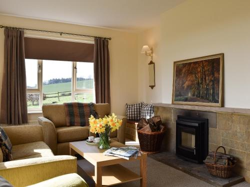 A seating area at Roundhill