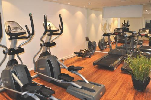Fitnesscenter och/eller fitnessfaciliteter på Trosa Stadshotell & Spa