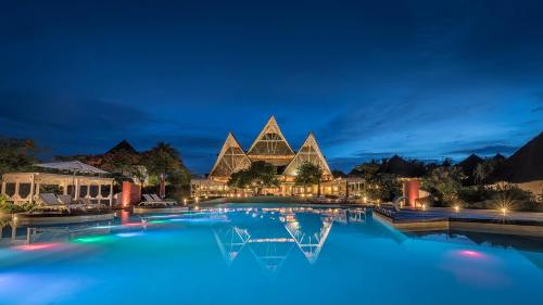 The swimming pool at or near Essque Zalu Zanzibar