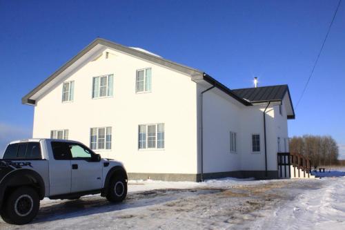Гостевой дом на Малиновой 26 зимой