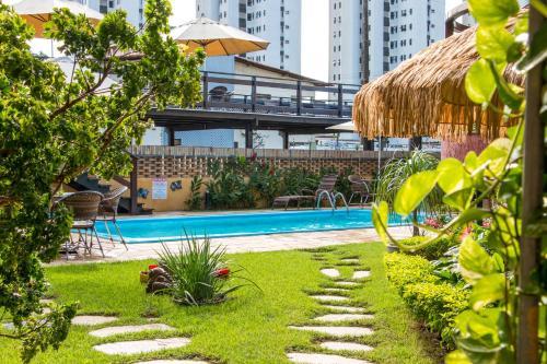 The swimming pool at or near Pousada da Terra