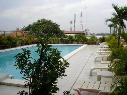 The swimming pool at or close to Casa Boutique Hotel