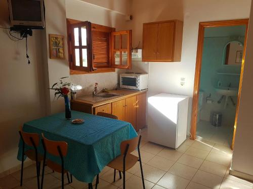 Küche/Küchenzeile in der Unterkunft Niki Apartments