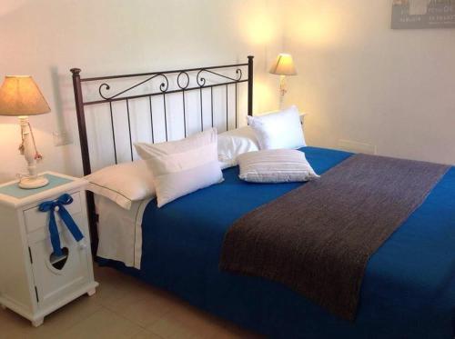 Cama ou camas em um quarto em Affittacamere PZ
