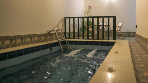 المسبح في فندق شاطىء الهدوء أو بالجوار