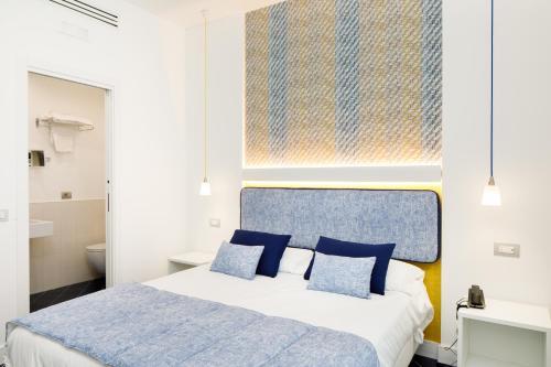 Letto o letti in una camera di Hotel Nice