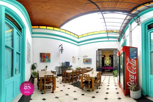 A restaurant or other place to eat at A la Gurda