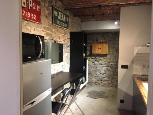 A kitchen or kitchenette at Dailly studio