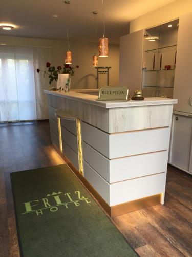 Lobby/Rezeption in der Unterkunft Das FRITZ Hotel