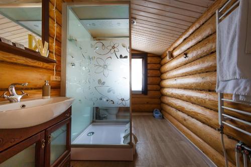 Ванная комната в Отель «Добрыня»