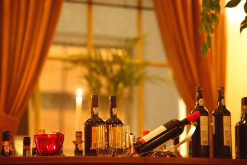 Drankjes bij Auberge aan het Hof