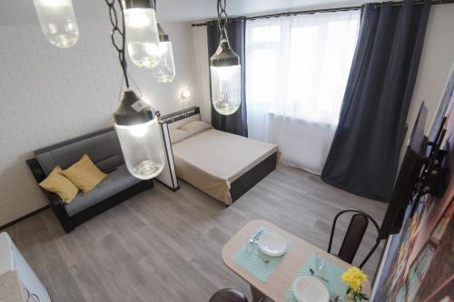 Гостиная зона в Апартаменты на Московской