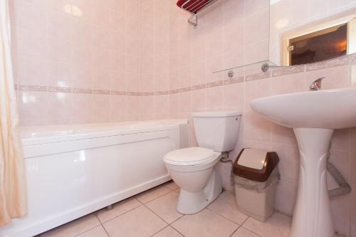 Ванная комната в Отель Регина Болгар
