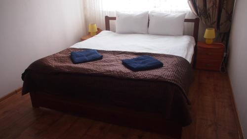 Кровать или кровати в номере SuzdalDa